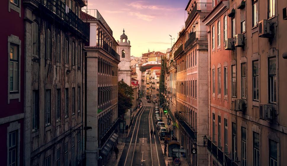 Imagen de Lisboa, capital de Portugal, uno de los lugares a visitar según José Saramago.