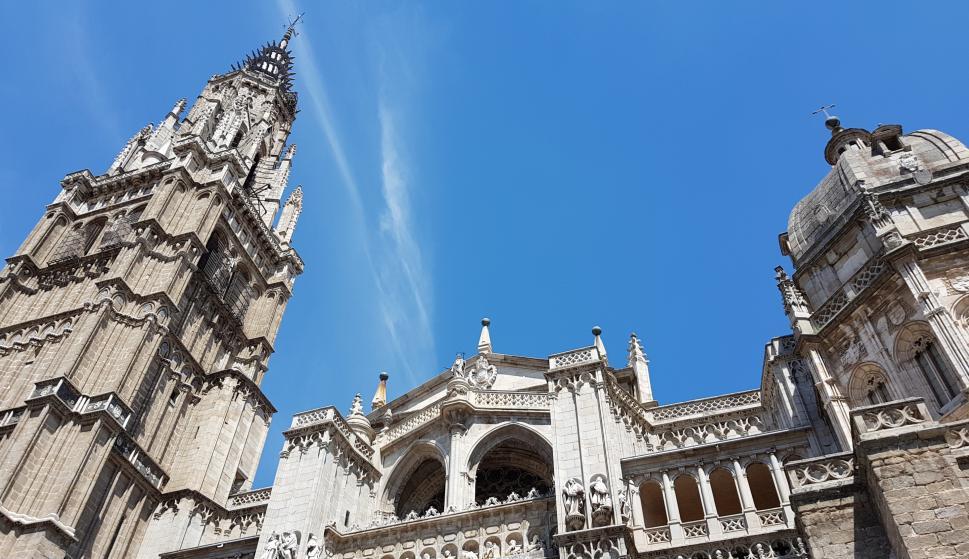 Imagen de la ciudad de Toledo.