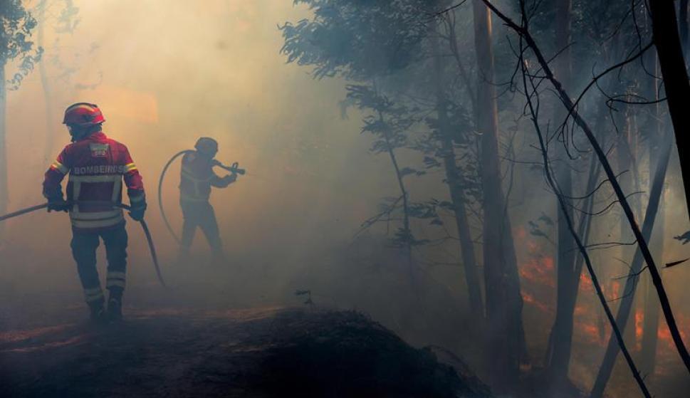 Fotografía incendio Algarve, Portugal