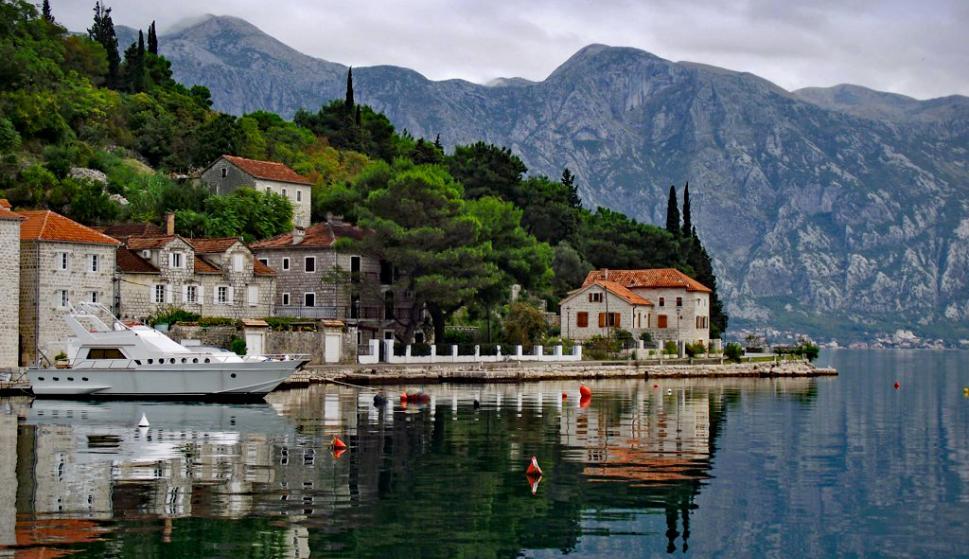 Una zona idílica de la región balcánica.