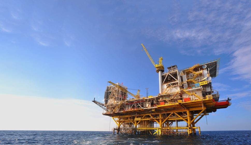 El yacimiento a explotar está en aguas profundas del Mediterráneo, al oeste de la costa del Delta del Nilo (Foto: Petronas)