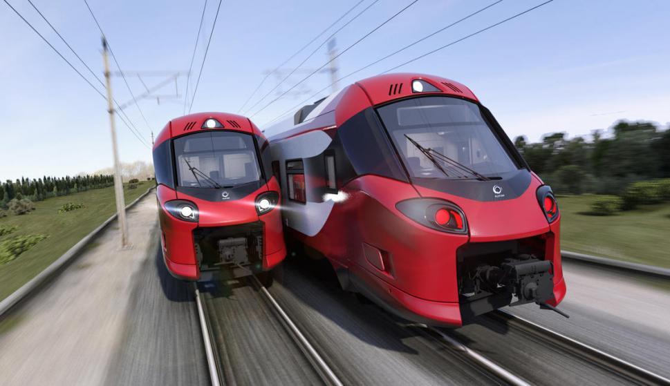 El diseño de los trenes Coradia de Alstom para Luxemburgo (opyright Alstom Design & Styling)