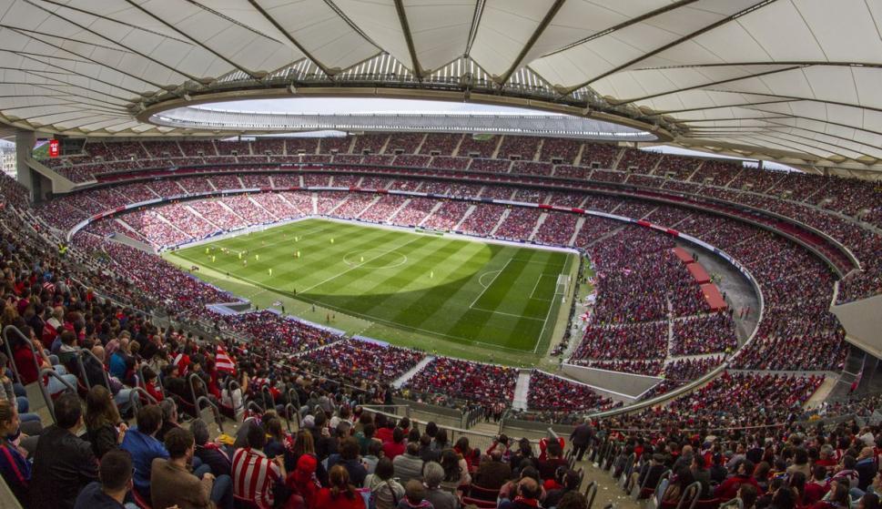 Récord histórico de asistencia a un partido de clubes en el Wanda Metropolitano (Foto: @AtletiFemenino)