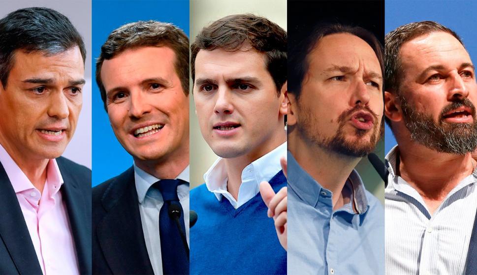 Dónde votarán los principales candidatos. /L.I.