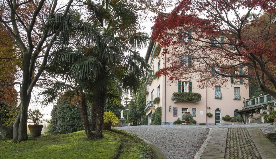 La Villa Mondadori está situada en Meina, en el norte del país. /Engel & Völkers