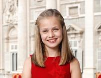 Foto oficial de Leonor en su 12 cumpleaños