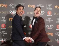 Ernesto Sevilla y Joaquín Reyes, presentadores de la Gala