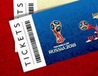 Abierta la venta de entradas para el Mundial de Rusia