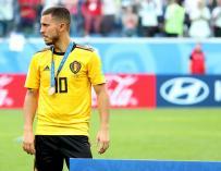 Hazard, el líder de Bélgica al que sigue el Madrid