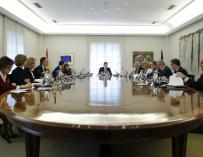 Reunión del consejo de ministros del pasado sábado.