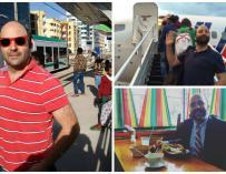 Manuel Ruiz-Ayucar en fotos de sus múltiples viajes