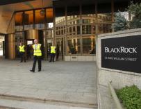 Imagen de la sede de BlackRock en Londres.