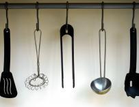 Fotografía de utensilios de cocina.