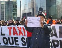 Protesta Taxi Madrid