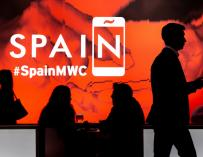Imagen del Mobile World Congress (MWC) de Barcelona en 2019.