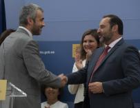 Fotografía José Luis Ábalos con Maurici Lucena / Fomento