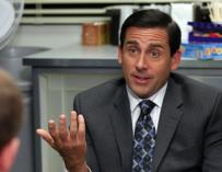 Steve Carell como Michael Scott en The Office