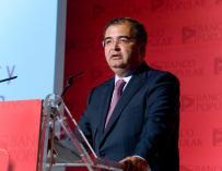 Ángel Ron sostiene que la compra del Banco Pastor es el inicio de otra ronda de consolidación financiera
