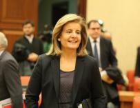 La ministra de Empleo, Fátima Báñez.