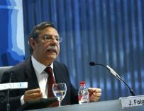José Folgado, presidente de Hispasat.