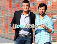 Roger del Sol y Carlos Rodés, fundadores de WeFitter.