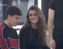 Amaia y Alfred, enamorados en la Academia de OT