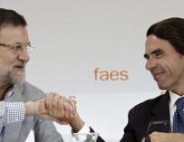 Rajoy y Aznar en 2014, eran otros tiempos