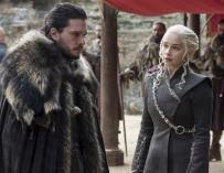 Jon Snow y Daenerys Targaryen.