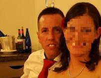 Una imagen del asesino confeso de Diana Quer con su mujer