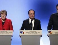 Rajoy en Marsella, ¿Quién se lo iba a decir a los españolitos de las maletas de cartón?