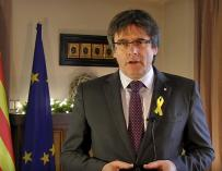 Puigdemont exige a Rajoy aceptar el 21D y negociar con el legítimo Govern