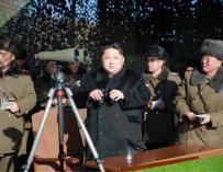 El dictador norcoreano, Kim Jong-un