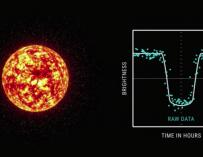 Fotografía de Kepler-90, la estrella que preside el nuevo sistema solar descubierto por la NASA.