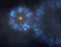 Fotografía de una de las primeras estrellas de la Vía Láctea.