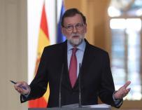 Mariano Rajoy, en el último Consejo de Ministros del año.