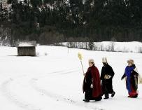 Melchor, Gaspar y Baltasar vienen a visitarnos