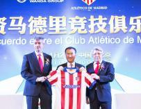 El Grupo Wanda, nuevo accionista del Atlético de Madrid