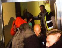 La Policía detiene a los agresores de la Arandina.