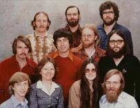 El 'staff' de Microsoft de 1978 / Microsoft