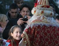 Los internautas siguen prefiriendo de largo a los Reyes Magos que a Papá Noel