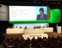 Goirigolzarri: La fusión con BMN subirá un 25% la clientela de Bankia y permitirá presencia en nuevos mercados