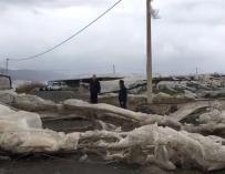 Tornado en El Ejido