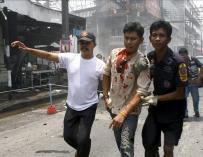 Al menos ocho muertos en un atentado con bombas en el sur de Tailandia