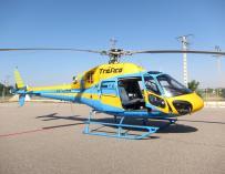 El helicóptero radar Pegasus emite en sus tres años de vida 18.274 denuncias