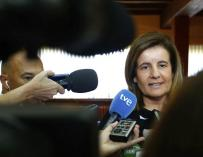La ministra de Empleo, Fátima Báñez, ha presentado en el Consejo de Ministros el informe de evaluación de la reforma laboral.