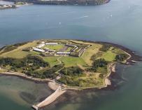 La prisión de Spike Island en Irlanda.