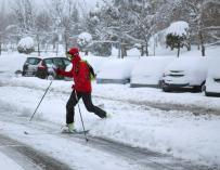 El temporal trae nieve en gran parte de España