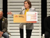 La presidenta de la Diputación Permanente del Parlament, Carme Forcadell