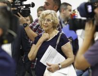 """Carmena afirma que no rechazar a corruptos se debe al """"contagio"""" de la ciudadanía """"de esa degradación ética"""""""