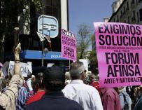 Unos 3.000 afectados de Fórum y Afinsa exigen justicia siete años después